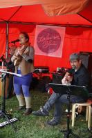 Laluna Blue live Konzert Bio-Gärtnerei Harro Erntedankfest